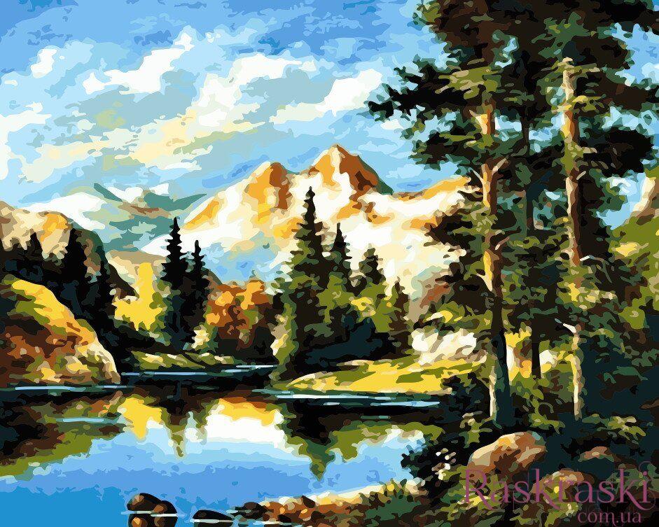Раскраски по номерам Горный пейзаж (AS0162) ArtStory ...